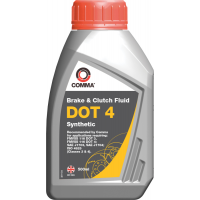 Comma DOT 4 Brake & Clutch Fluid